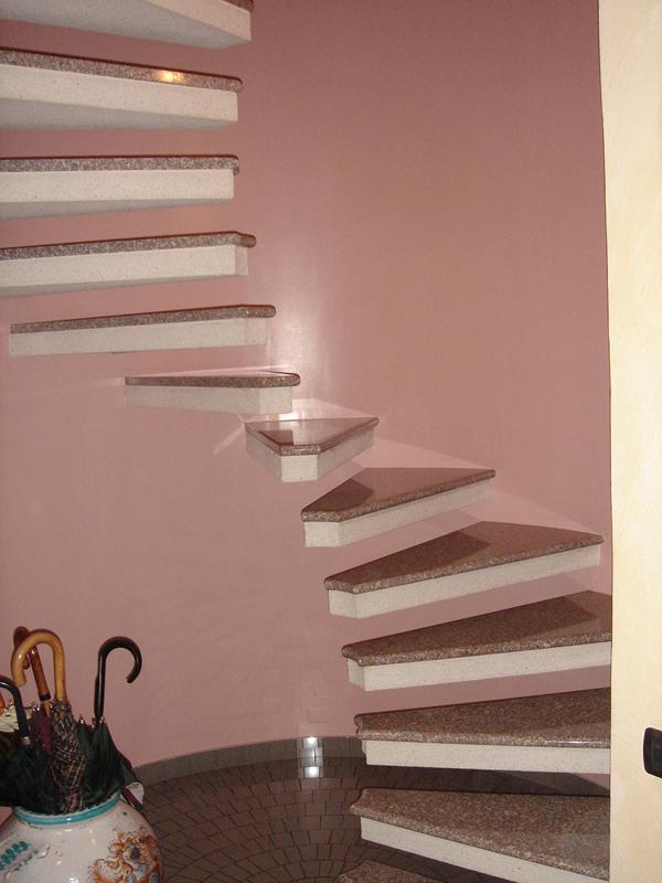 Pin scale per interni ed esterni manufatti in cemento - Scale in cemento per interni ...
